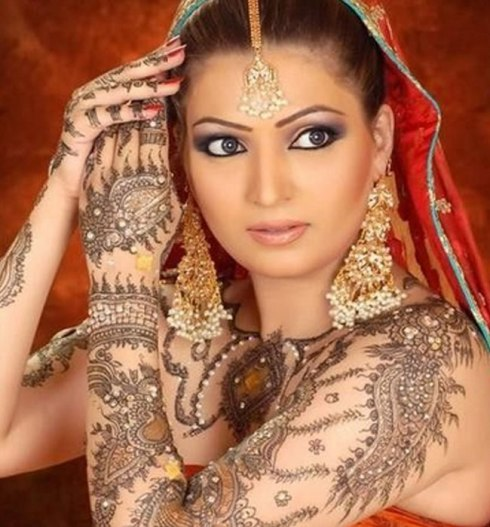 Bridal Full Body  MEhndi
