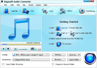 Bigasoft Audio Converter v3.7.2 Multilanguage Full Version